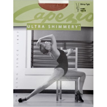 1881 Capezio Adult Shimmer Stirrup Tights