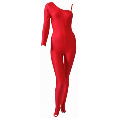 Shola One Sleeve Catsuit Lycra