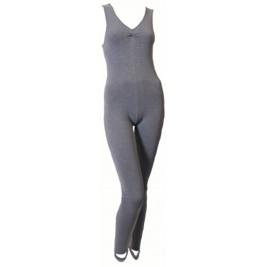 Becki Sleeveless Catsuit Cotton
