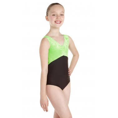 Angela Sleeveless Dance Leotard Velvet/Lycra