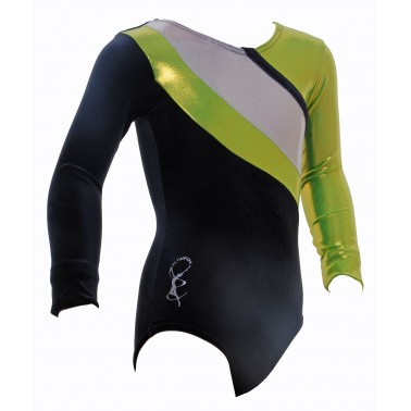 Algarve Long Sleeve Gym Leotards - (#014c)