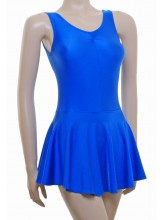 Andrea Sleeveless Leotard Dress Lycra (DD-ANDL)