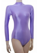 Penny Long Sleeve Polo Dance Leotard Lycra (DD-PENL)