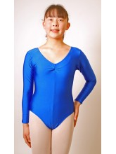 Kerry Long Sleeve Dance Leotard Lycra (DD-KERL)