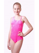 Wanda One Shoulder Dance Leotard Velvet (DD-WANV)