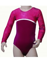 Canberra Long Sleeve Gym Leotards - (#012c) (OLYM-CANBERRA-9002)