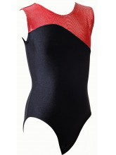 Lisbon Sleeveless Gym Leotards - 9001 (OLYM-LISBON-9001)
