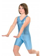 Lexi sleeveless Unitard Liquid Foil (DD-LEX-SHEEN)