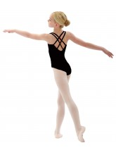 BD105 Capezio Camisole Leotard with Double Back Straps in Bodisilk (CAP-BD105)