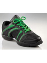 DS30 Capezio Bolt Black/Bright Green (CAP-DS30-GREENJ)