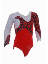 Starlight  Long Sleeve Gym Leotards - 1028 (OLYM-STARLIGHT-1028COPY)