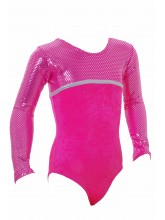 Canberra Long Sleeve Gym Leotards - 1046 (OLYM-CANBERRA-1046)