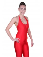 Harriet Sleeveless Halter Neck Unitard Lycra (DD-HARL)