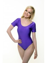 Simone Short Sleeve Dance Leotard Cotton (DD-SIMC)