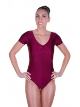 Jane Short Sleeve Dance Leotard Lycra (DD-JANL)