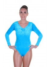 Kerry Long Sleeve Dance Leotard Velvet (DD-KERV)