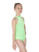 Petra Sleeveless Polo Dance Leotard Velvet (DD-PETV)