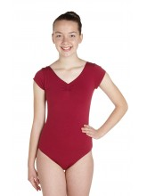 Teagan Cap Sleeve Dance Leotard Cotton (DD-TEAC)