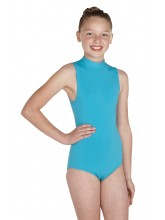 Polly Sleeveless Polo Dance Leotard Cotton (DD-POLC)