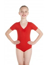 Jane Short Sleeve Dance Leotard Cotton (DD-JANC)