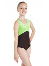 Angela Sleeveless Dance Leotard Velvet/Lycra (DD-ANGVLB)