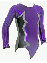 Cosmic Long Sleeve Gym Leotards - 1055 (OLYM-COSMIC-LS-1055)
