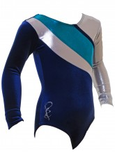 Algarve Long Sleeve Gym Leotards - 1058 (OLYM-ALGARVE-1058)