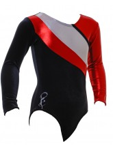 Algarve Long Sleeve Gym Leotards - 1058 (OLYM-ALGARVE-1059)