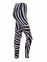 Footless Tights Lycra Zebra Print (DD-STL-ZEBRA)