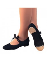 825 Capezio Low Heel Canvas Tap Dance Shoes (CAP-825)