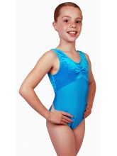 Angela Sleeveless Dance Leotard Velvet/Lycra (DD-ANGVL)