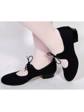 Low Heel Canvas Tap Dance Shoes (DD-CTL)