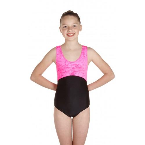 120fb3330551 Wholesale Dance - Nicola Sleeveless Dance Leotard Velvet/Lycra - DD ...