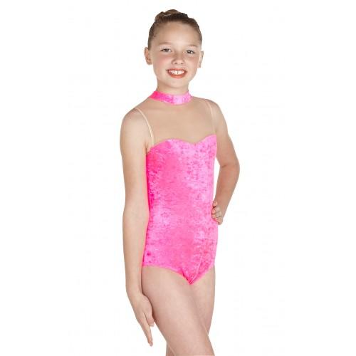 c2f671dc6d70 Wholesale Dance - Polly Sleeveless Polo Bodystocking/Velvet Dance ...