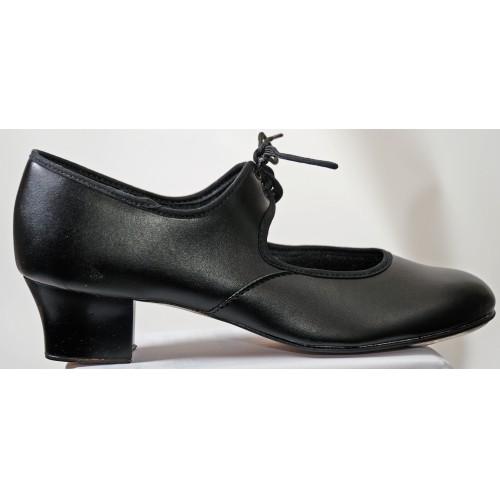 e5a2d1a6afb5d Cuban Heel PU Tap Dance Shoes