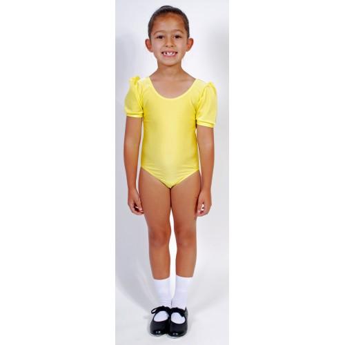 4433e59277cf Wholesale Dance - Jolie Short Puff Sleeve Dance Leotard Lycra - DD-JOLL